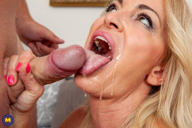 Hot MILF having an affair with a younger stud