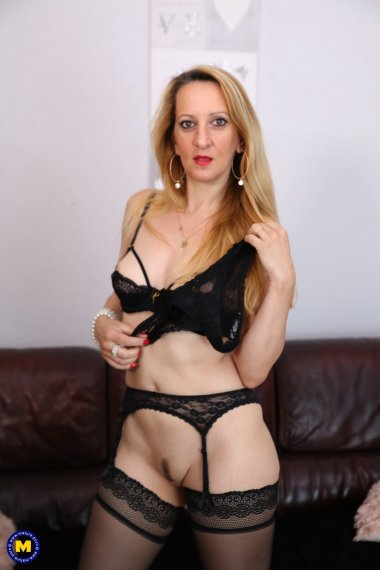 Naughty French Louise Du Lac loves to get naked and frisky