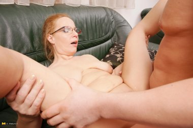 Naughty housewife getting down and dirty with her lover