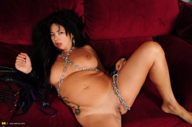 Naughty Asian American housewife loves to play her little kinky games
